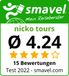 nicko tours Test Bewertung