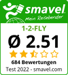 1-2-FLY Test Bewertung