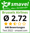 Brussels Airlines Test Bewertung